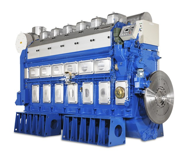 Wärtsilä sköter underhåll och service av 12 50DF motorer i Kambodja.