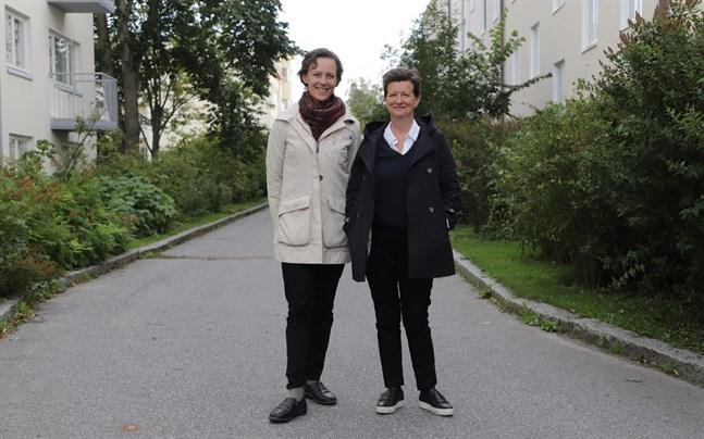 Maria Zuglian och Camilla Klockars startar en stödgrupp för cancersjuka kvinnor.