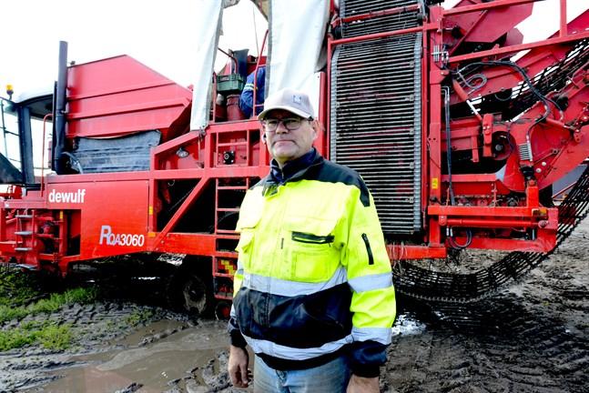 Potatiskonsumtionen ökade något under fjolåret, säger Kaj Hemberg, ordförande i SLC:s potatisutskott.
