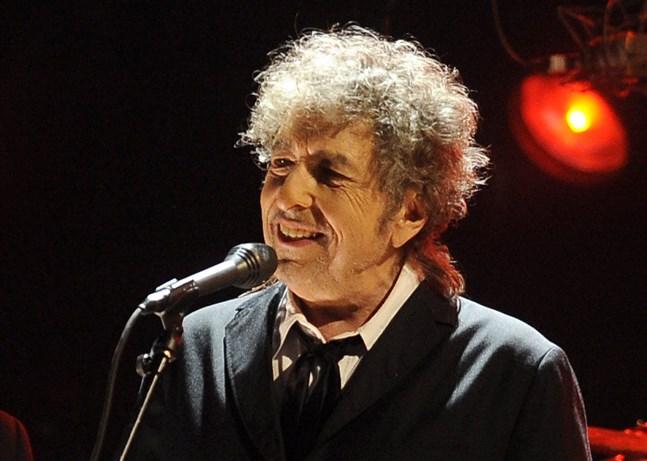 Bob Dylan kliver in i radiostudion igen. Arkivbild.