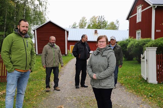 Jonas Söderlund, Rolf Thors, Bengt-Ole Granholm, Kurt Holmqvist och Britta Björklund-Thors kommer att lämna in ett besvär till förvaltningsdomstolen.