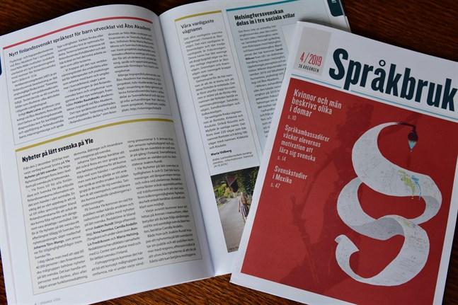 Tidskriften Språkbruk har utkommit i 39 år. Efter årsskiftet utkommer Språkbruk endast på webben.