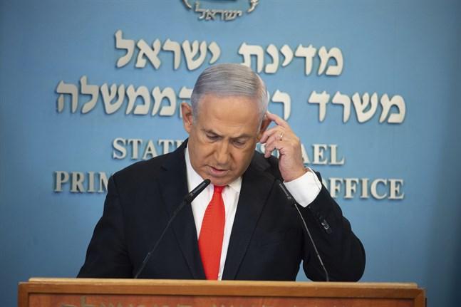Israels premiärminister Benjamin Netanyahu. Arkivbild.