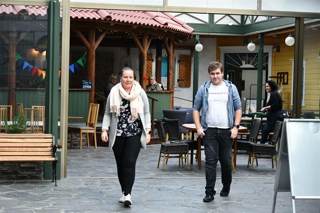 Juliette och Joakim Ollila äger nu Handelshuset Corner.