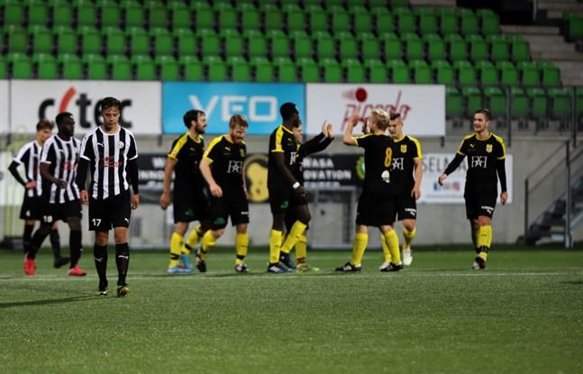 Det blev inget målfirande för NIK i matchen mot KPV Akatemia.