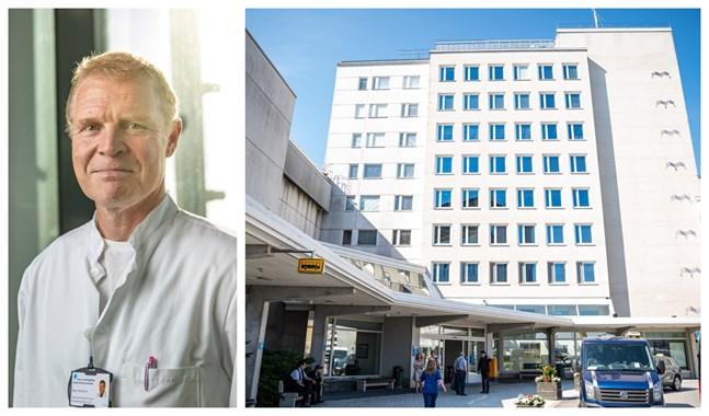 """""""Situationen är nog under kontroll, men det gäller att alla sköter sig för att det ska hållas så också"""", säger Peter Nieminen, chefsöverläkare."""