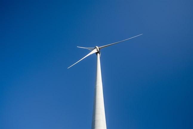 På söndag är det folkomröstning om den planerade vindkraftsparken på Ripfjället i Sverige. Arkivbild.