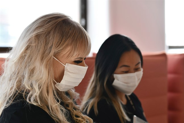 Institutet för hälsa och välfärd registrerade 105 nya fall av coronaviruset på söndagen.