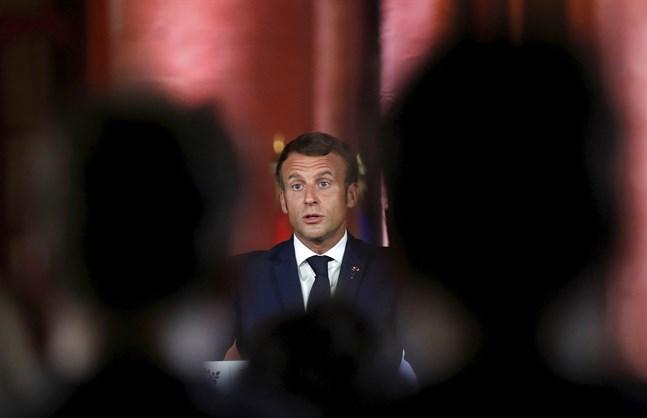 I början av september lämnade Frankrikes president Emmanuel Macron Libanon med skarpa varningar till landets politiker. Nu har försöken att bilda regering misslyckats, och blickarna vänds åter till den franske presidenten. Arkivbild.
