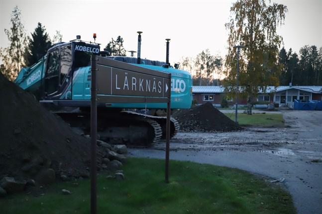 Korsnäs får mindre pengar från staten än budgeterat för ombyggnaden av serviceboendet Lärknäs.