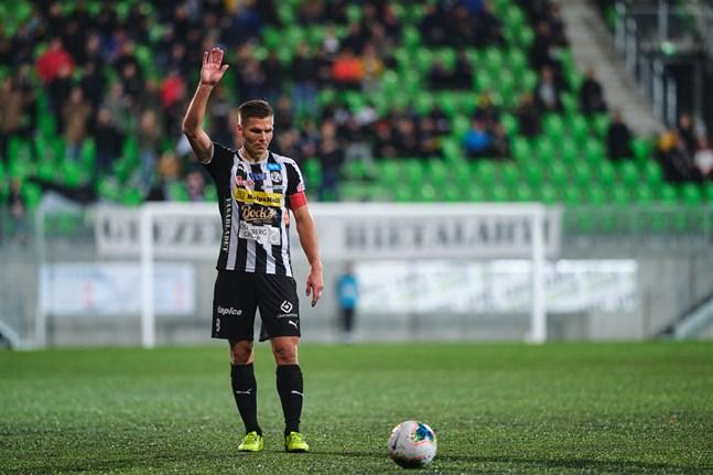 Sebastian Strandvall var en nyckelspelare i VPS den här säsongen. Det bör han vara även nästa säsong.
