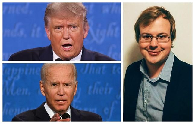 USA-experten Oscar Winberg anser att demokraternas Joe Biden tog hem segern i nattens presidentvalsdebatt.
