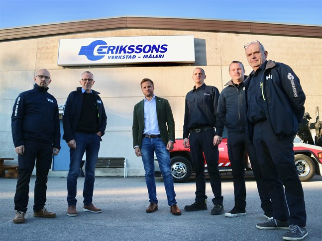 Petter Eriksson, Bo-Göran Eriksson, Johan Livered, Andreas Eriksson, Joakim Eriksson och Lasse Eriksson går in i ett nytt skede.
