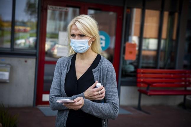 Orosmomenten är många nu i Vasa sjukvårdsdistrikt, konstaterar direktör Marina Kinnunen.