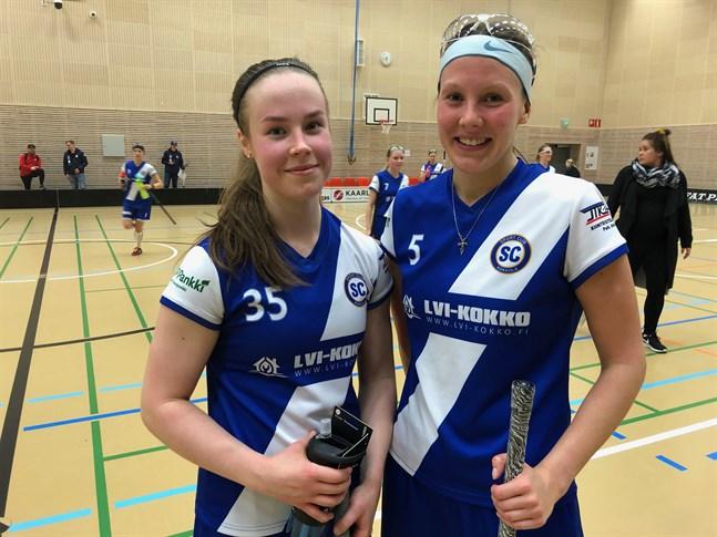 Kiia Verronen (35) noterades för 1+3 och Karoliina Lintinen för 2+0 i SC Kokkolas seger över SPV.