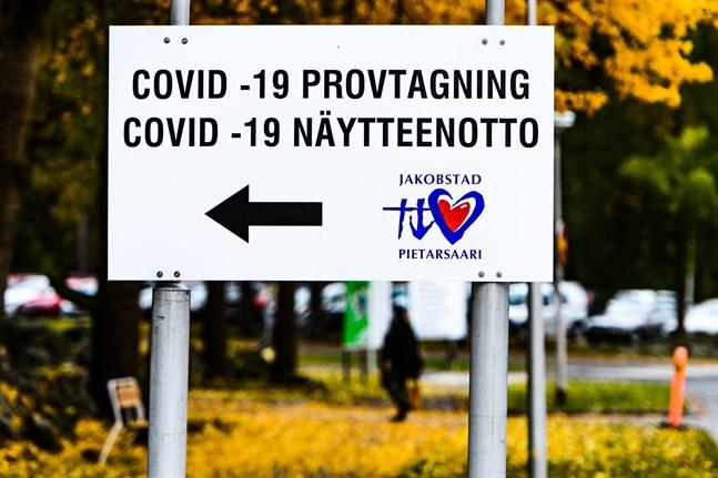 Covid-19 provtagning vid Malmska.