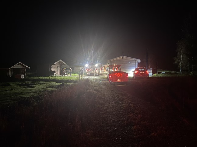 Räddningsverket ryckte ut till en brand i Esse på torsdagskvällen.