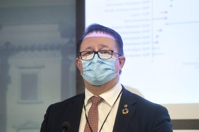 Mika Salminen, Institutet för hälsa och välfärd.
