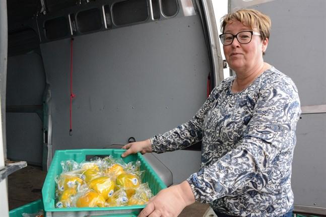 Carola Sandvik är Marthaförbundet matkulturstipendiat 2020.
