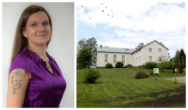 Leena Nikkari-Östman (SFP) leder den arbetsgrupp som nu ska vaska fram en ny lösning för kommunens finskspråkiga elever.