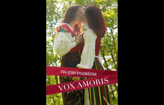 """Omslaget till Eva-Stina Byggmästars bok """"Vox amoris"""", utgiven på Marginal förlag."""