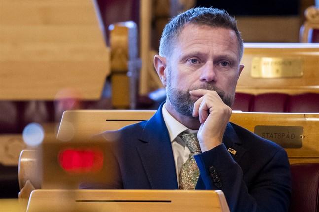 Norges hälsominister Bent Høie.