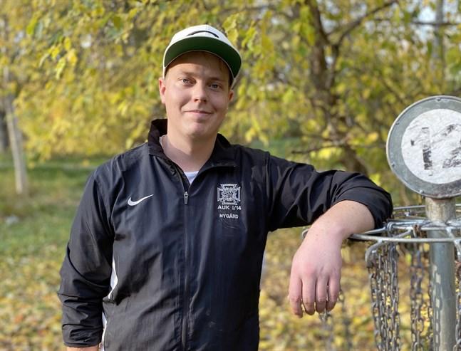Patrik Nygård har bevittnat ett rejält uppsving för frisbeegolfen.