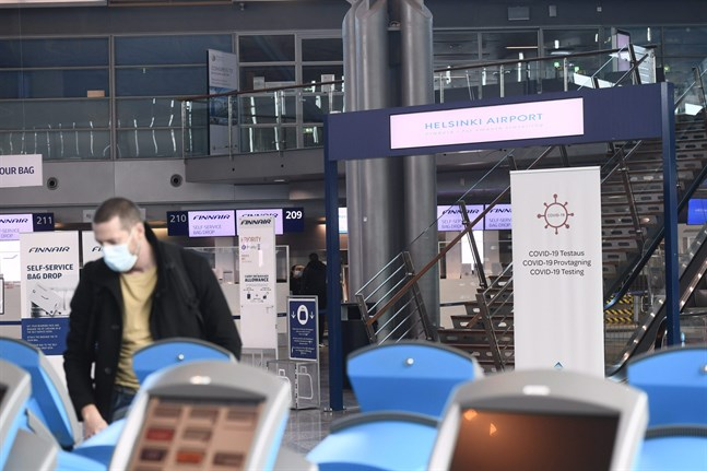 Vid Helsingfors-Vanda flygplats har antalet passagerare i september minskat med 92 procent jämfört med samma månad 2019.