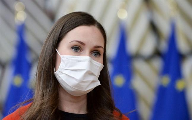 Sanna Marin (SDP) lämnade EU-toppmötet på fredagen efter misstänkt coronaexponering.