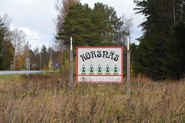 Korsnäs har nu den högsta incidensen i Vasa sjukvårdsdistrikt.