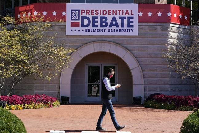 I Nashville förbereder man sig för nästa presidentdebatt. Arkivbild.