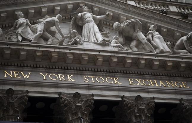 Kurserna steg på New York-börsen. Arkivbild.