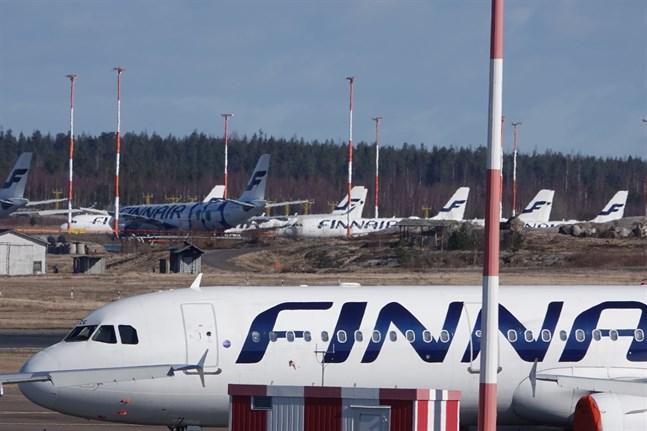 Coronaepidemin har tvingat flygbolag att parkera stora delar av sin flotta. Så även Finnair.