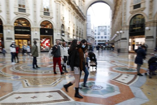 Milanobor i munskydd.