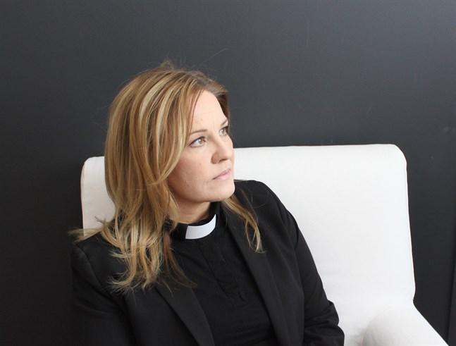 Åsa Turpeinen, församlingspastor i Jakobstads svenska församling.