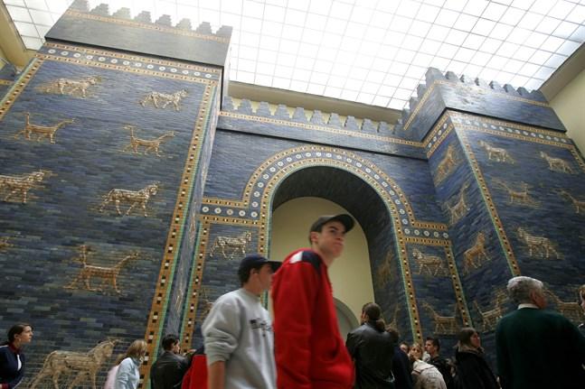 Pergamonmuseet är ett av tre museer i Berlin som utsatts för vandalism. Arkivbild.