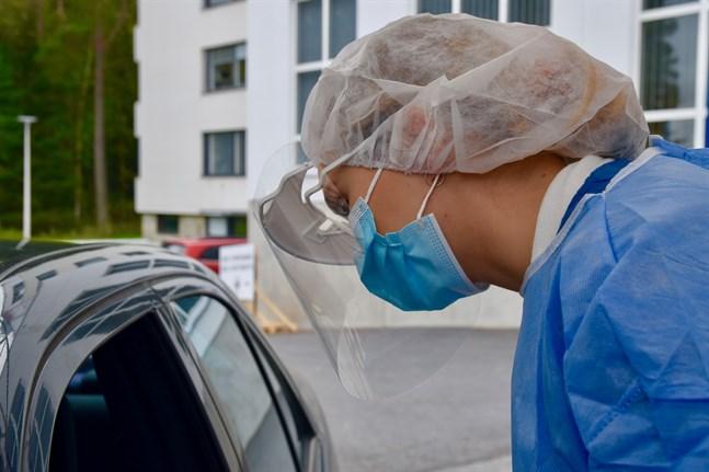Epidemin har fåtts under kontroll i Vasa där bara två nya smittfall konstaterats under det senaste dygnet.