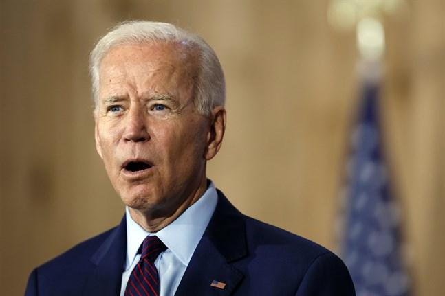 Demokraternas presidentkandidat Joe Biden. Arkivbild.