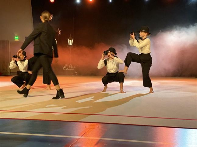 Förra hösten ordnade LGF en danssaga inför fullsatta läktare i Kristinahallen. I höst blir det ingen show utan föreningen hoppas kunna ordna den i vår i stället.