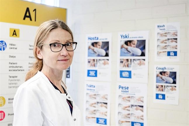 Smittskyddsläkare Johanna Gripenberg.