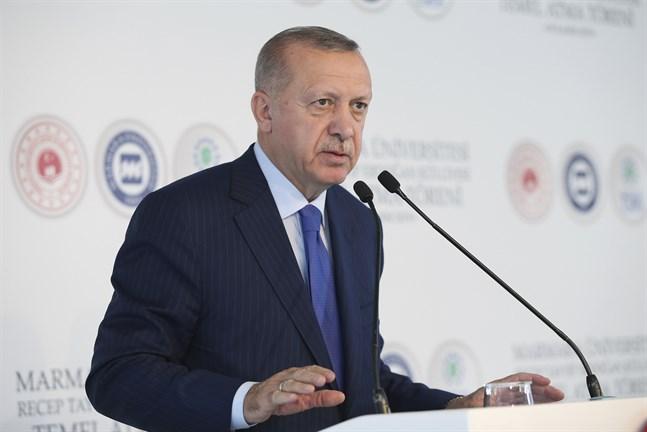 Turkiets president Recep Tayyip Erdogan. Arkivbild.