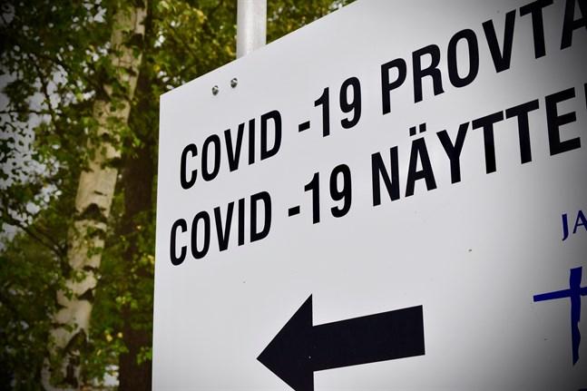 Sammanlagt 1403061 finländare har tills vidare testatsförcoronaviruset.