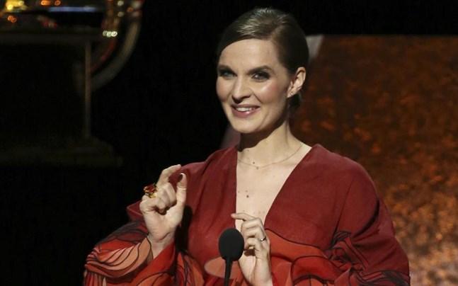 """Hildur Gudnadóttir prisades även under Grammy-galan tidigare i år, då för musiken till """"Chernobyl"""". Nu har hon tilldelats ännu ett pris för sin musik till """"Joker""""."""