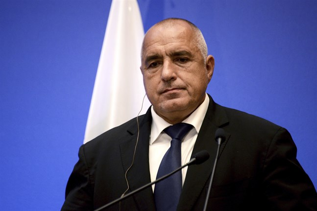 Boyko Borisov är Bulgariens premiärminister. Arkivbild.