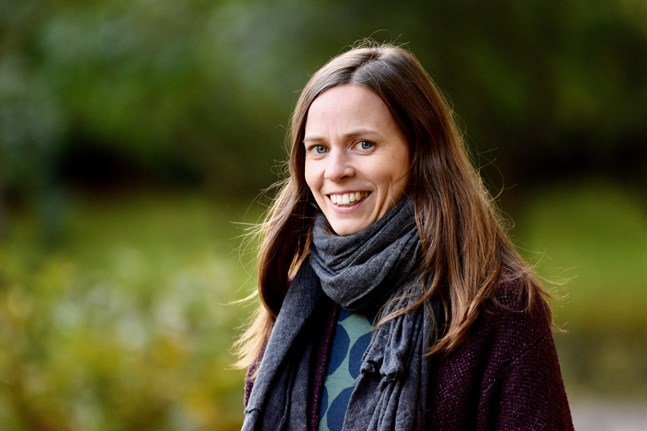 Sandra Grindgärds från Henriksdal har jobbat med internationell politik i flera år, de senaste åren vid FN:s högkvarter.
