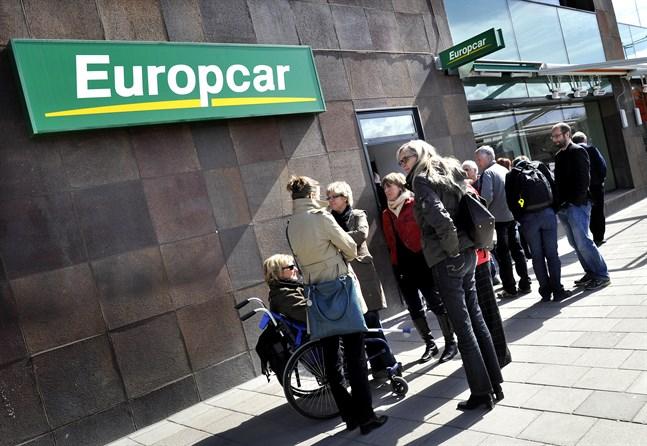 Europcar har det tungt. Arkivbild