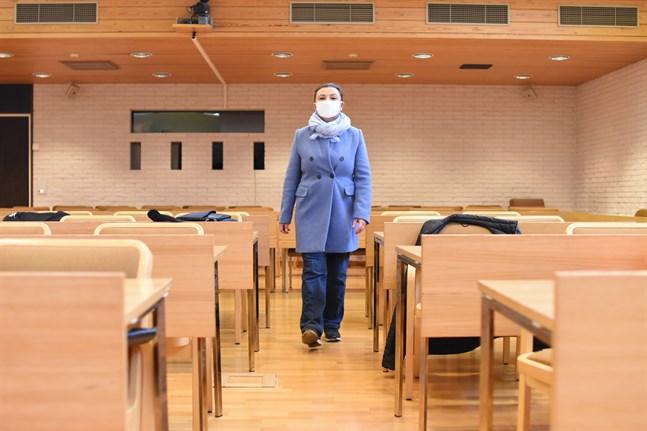Emina Arnautovic är ordförande i nomineringsgruppen för SFP i Närpes. Nu har gruppen 34 kandidater klara. Fullmäktige består av 35 ledamöter och partiet siktar på minst 45 kandidater.
