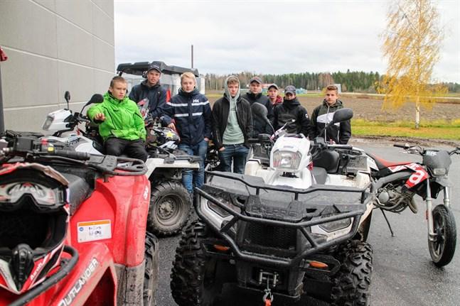 Munskydd är inte vanliga i högstadiet enligt Aron Grannas, Joel Östman, William Östman, Anton Öst, Benjamin Nickull, Kim Kulp , Gabriel Helsing och Rickard Jünger.