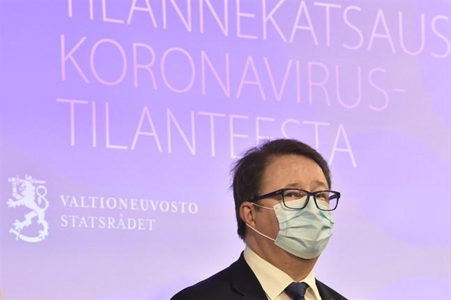 Mika Salminen, direktör vid Institutet för hälsa och välfärd.