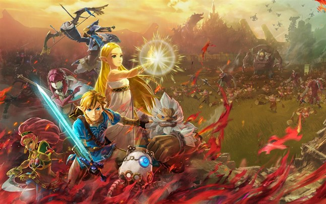 """Hyrule warriors: Age of calamity"" finns nu som demo."